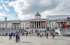 Das National Gallery in London Stockfotos