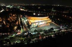 Das nationale Auditorium von Mexiko City - Mexiko Stockbilder