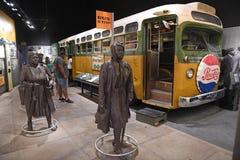 Das nationale Bürgerrecht-Museum in Memphis Tennessee Stockfotografie