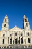 Das nationale Royal Palace- und Franziskaner-Kloster von Mafra Lizenzfreies Stockfoto