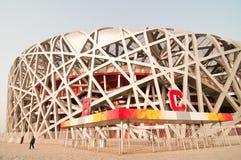 Das nationale Stadion des Porzellans Lizenzfreies Stockfoto