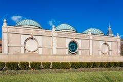 Das Nationalmuseum der afrikanischen Kunst ist ein afrikanisches Kunstmuseum, das in Washington, in DC und in einem von neunzehn  Lizenzfreies Stockfoto