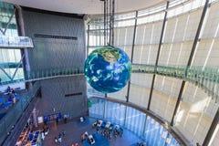 Das Nationalmuseum der auftauchenden auftauchenden Wissenschaft und der Innovation in Odaiba, Tokyo Lizenzfreies Stockfoto
