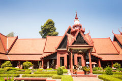 Das Nationalmuseum von Kambodscha (Sala Rachana) Phnom Penh, Cambo Lizenzfreie Stockfotografie