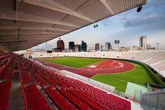 Das Nationalstadion von Thailand oder von Suphachalasai-Stadion, Bangk lizenzfreie stockfotos