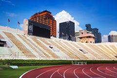 Das Nationalstadion von Thailand oder von Suphachalasai-Stadion, Bangkok. lizenzfreie stockfotografie