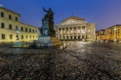 Das Nationaltheater von München stockbild