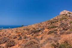 Das Naturreservat der Bucht von Balos lizenzfreie stockfotos