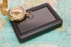 Das Navigationssystem für Pkw Stockfoto