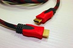 Das Netzkabel für den Computer lizenzfreies stockfoto