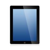 Das neue Ipad (Ipad 3) getrennt auf weißem Hintergrund Stockfotos
