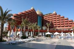 Das neue moderne Hotel. Lizenzfreie Stockfotos
