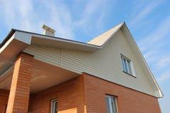 Das neue private moderne Haus Stockbilder
