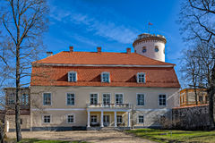 Das neue Schloss, Cesis, Lettland lizenzfreies stockfoto