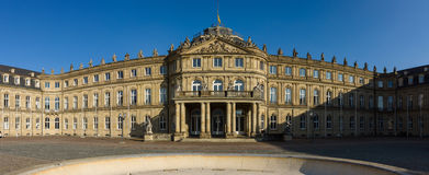 DAS Neues Schloss (το νέο Castle) Στοκ εικόνα με δικαίωμα ελεύθερης χρήσης
