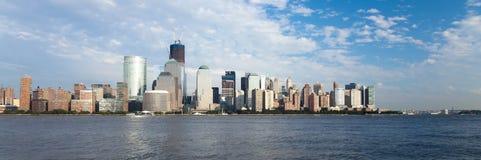 Das New York City im Stadtzentrum gelegenes w der Freiheitskontrollturm Lizenzfreie Stockfotografie