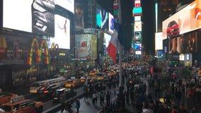 Das New- York Citytimes square stock footage
