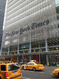 Das New York Times-Gebäude Stockbild