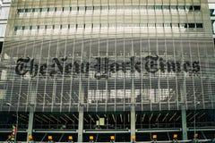 Das New- York Timesgebäude Lizenzfreies Stockbild