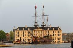 Das niederländische nationale Seemuseum stockfotos