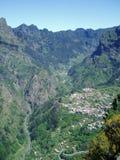 Das Nonnen-Tal in Madeira Lizenzfreie Stockfotografie