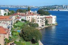 Das Nordufer von Sydney, Australien Lizenzfreies Stockfoto