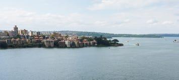 Das Nordufer von Sydney, Australien Stockbild