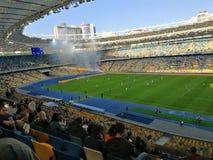 das NSC olympisch, Fußball lizenzfreie stockfotografie