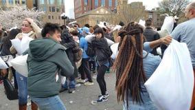 Das 2016 NYC-Kissenschlacht-Tagesteil 2 86 Lizenzfreies Stockfoto