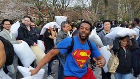 Das 2016 NYC-Kissenschlacht-Tagesteil 3 81 Lizenzfreies Stockbild