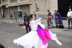 Das 2015 NYC-Tanz-Parade-Teil 2 65 Lizenzfreies Stockbild