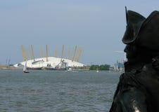 Das O2 Arean London Lizenzfreie Stockbilder