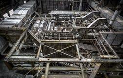 Das oben Treppenhaus Stockfotografie