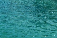 Das Oberflächenwasser des Sees Lizenzfreie Stockfotografie