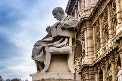 Das Oberste Gericht der Aufhebung in Rom, Italien lizenzfreies stockfoto