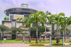 Das Oberste Gericht in Singapur Stockbild
