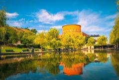 Das Observatorielunden in Stockholm Schweden lizenzfreies stockbild