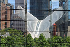 Das Oculus am World Trade Center Lizenzfreie Stockfotos