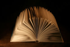Das offene Buch Lizenzfreies Stockfoto