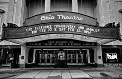 Das Ohio-Theater stockfoto