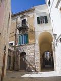 Das Oldtown von Trani. Apulia. Lizenzfreies Stockbild