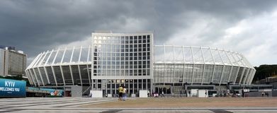 Das Olympiastadion Lizenzfreies Stockfoto