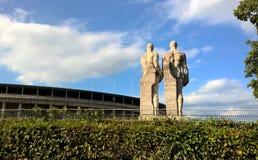 Das Olympiastadion in Berlin, Deutschland Lizenzfreie Stockbilder