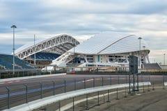 Das Olympiastadion Fisht in Sochi, Russland Stockbild