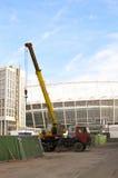 Das Olympiastadion im Bau für den UEFA-EURO 2012 Stockbilder