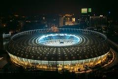 Das Olympiastadion KYIV, UKRAINE Lizenzfreie Stockbilder