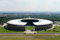 Das Olympiastadion von Berlin. Stockfotos