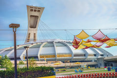 Das Olympiastadions-Esplanade stockfotografie