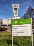 Das olympische Stadion Stockbild