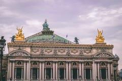 Das Opernhaus in Paris stockbilder